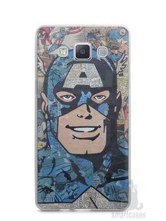 Capa Capinha Samsung A7 2015 Capitão América Comic Books #2 - SmartCases - Acessórios para celulares e tablets :)