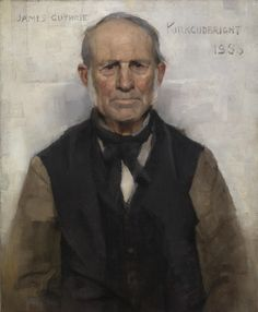 Old Willie, A Village Worthy, Art Contrarian: Sir James Guthrie, Glasgow Boy Glasgow Museum, Glasgow City, T 62, Henri Fantin Latour, Inspirational Artwork, Art Uk, Boy Art, Your Paintings, Beautiful Paintings