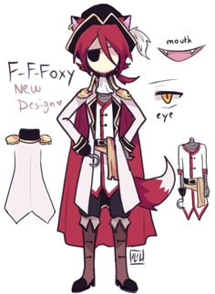 (Open RP, Im Foxy) So yeah...this is my new look. You like? *twirls around showing off new clothing* I dint think I'm a fan of the cape..