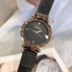 Buy it before it ends. There is always many products on sae upto - 2019 Luxury Brand lady Crystal Watch Magnet buckle Women Dress Watch Fashion Quartz Watch Female Stainless Steel Wristwatches - Fast Mart Cool Watches, Watches For Men, Female Watches, Modern Watches, Elegant Watches, Casual Watches, Women's Dress Watches, Watch Holder, Swiss Army Watches