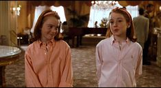 Two twins, one killer wardrobe. http://www.manrepeller.com/2015/07/the-parent-trap-1998-cast-fashion.html