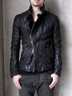 Get a leather jacket for this winter!