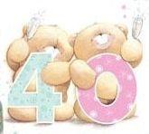 Ya 40? Pareces de 15!!! #Ositos