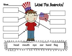 Little Miss Kindergarten - Lessons from the Little Red Schoolhouse!: Patriotic Parade! FREEBIE