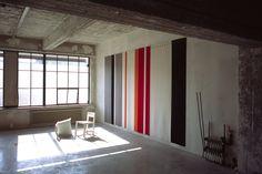 Studio Lawrence - Along these Lines - Akoestische wandbekleding Living Room, Studio, Room Dividers, Screens, Furniture, Wall Art, Home Decor, Homemade Home Decor, Panel Room Divider