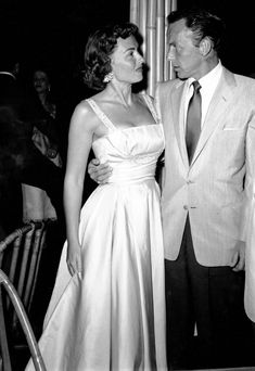 Donna Reed Frank Sinatra 1954 courtesy of Palm Springs Art Museum - oozing cool