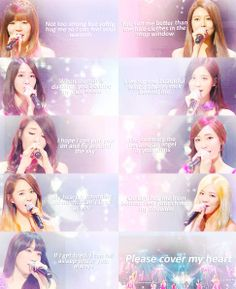 SNSD Girls Generation please cover my heart