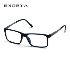 ENGEYA TR90 Retro Optical Computer Glasses Frame Brand Myopia Spectacles Clear Eye Glasses Frames For Men 3 Matte Colors #IP2013