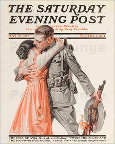 Joseph Christian Leyendecker - The Saturday Evening Post May 1917