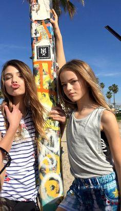 Kristina Pimenova and Laneya Grace Teen Models, Young Models, Child Models, The Most Beautiful Girl, Beautiful Children, Beautiful Babies, Laneya Grace, Cute Young Girl, Cute Girls