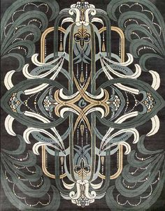 Catherine Martin - Deco - Rug Collections - Designer Rugs - Premium Handmade rugs by Australia's leading rug company Art Nouveau, Textures Patterns, Print Patterns, Sicis Mosaic, Art Actuel, Art Deco Furniture, Plywood Furniture, Modular Furniture, Furniture Showroom