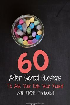 60 After School Questions To Ask Your Kids Year Round