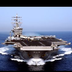 USS Dwight D Eisenhower- My heart is on this ship for the next 6 months.