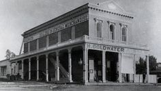 Goldwater's Fine Department Store, Phoenix, AZ - founded in Gila City, Arizona Territory, in 1860 and moved to Phoenix in 1872. The store was founded by Michael Goldwater, the grandfather of U.S. Senator and 1964 presidential candidate Barry Goldwater.