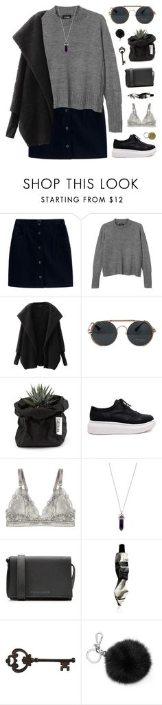 """""""christmas eve yay! / desc"""" by ruthaudreyk ❤ liked on Polyvore featuring A.P.C., Monki, Chicnova Fashion, Uashmama, STELLA McCARTNEY, Victoria Beckham, Aesop, Pier 1 Imports, Michael Kors and Jayson Home"""