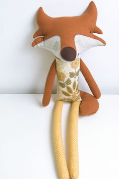 #fox #softtoy by PinkNounou
