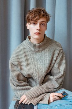 """calichele: """" Dylan Bell   backstage at Orley FW16 - New York """""""