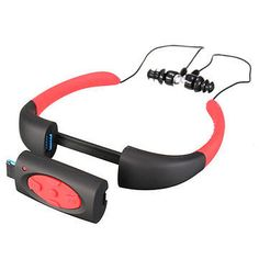 4GB IPX8 Waterproof FM Radio Bluetooth Sport MP3 Music Player Diving Swimming-MP3 Player