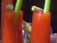 Spicy Bloody Mary with Pepper Vodka Recipe : Emeril Lagasse : Food Network