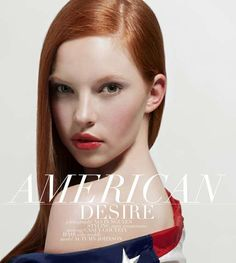 American Desire by Alvin Nguyen is Fresh-Faced and Beautiful #4thofjuly trendhunter.com
