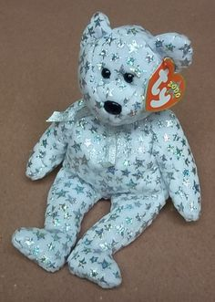 2b7e9d2cad5 Jakemart — Ty Beanie Babies The Beginning Bear -- Used