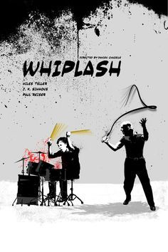 Whiplash (2014) - movie poster - Edgar Ascensão