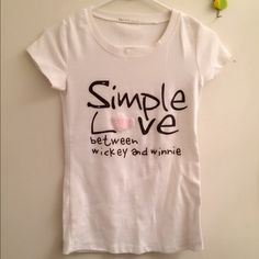 Spotted while shopping on Poshmark: Simply love t shirt! #poshmark #fashion #shopping #style #Tops