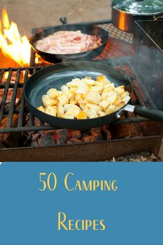 Do you love the great outdoors? Then this is the eBook for you. In it, we've compiled 50 recipes that are perfect for your next camping adventure - from breakfast to dessert! All the best recipes gathered into one place so you don't have to go through dozens of websites for inspiration. Diy Camping, Camping Meals, Tent Camping, Outdoor Camping, Camping Supplies, Camping Essentials, Camping Accessories, Make It Work, The Great Outdoors