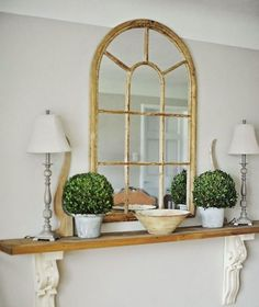 DIY Entryway Table using corbels/architectural salvage at Home by Ally . Like using vintage corbels Diy Entryway Table, Rustic Entryway, Entryway Ideas, Narrow Entry Table, Hallway Ideas, Hallway Decorations, Narrow Entryway, Entryway Shelf, Entrance Table