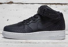 "Nike Air Force 1 Mid ""Black Python"" - EU Kicks: Sneaker Magazine"