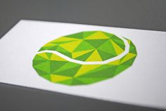 ACE tennis club by Bogdan Bida, via Behance