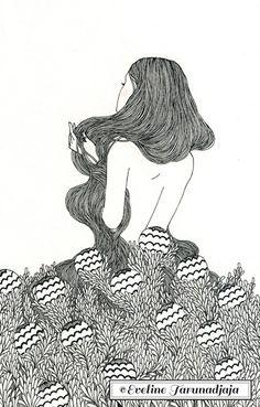 Bobbles by Eveline Tarunadjaja #art #illustration #evelinetarunadjaja