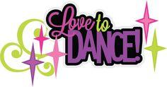 Love To Dance SVG scrapbook title dance svg files dance cut files free svgs free svg cuts