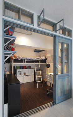 子供部屋のレイアウト|リフォーム・マンションリフォームならLOHAS ... 6畳2人など狭い部屋でのレイアウトのアイデア