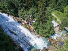 Flying Waters BadGastein Waterfall, Summer, Travel, Outdoor, Water, Outdoors, Summer Time, Viajes, Summer Recipes