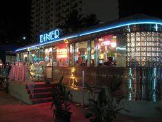Eleventh Street Diner, Miami. One of the handful of diners left in Florida.