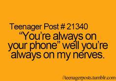 Teenager post