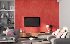Living Room Wall Painting Designs For Hall - Living Room : Hardrawgathering. Bedroom Wall Designs, Bedroom Wall Colors, Room Paint Colors, Bedroom Ceiling, Bedroom Ideas, Asian Paint Design, Asian Paints Wall Designs, Paint Designs, Drawing Room Paint