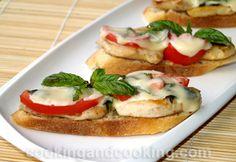 Open Faced Chicken Sandwich
