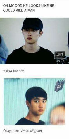 Do Kyungsoo You're so squishy even as a killer