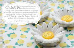 CAKE101: Fondant Flower Tip