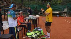 Ecuador y Brasil ya entrenan completos para la Copa Davis