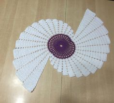 Spiral table path with graphics Knitting Videos, Crochet Videos, Knitting Projects, Crochet Projects, Crochet Table Runner, Crochet Tablecloth, Crochet Doilies, Crochet Fish, Free Crochet