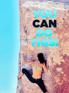 You can do this!