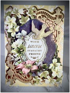 Anna Griffin Cards, Card Making, Fancy, How To Make, Crafts, Inspiration, Decor, Frame, Die Cutting