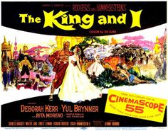 Poster for 'The King and I' ... Happy Movie, Richard Rodgers, Love Film, Love Movie, Old Movies, Vintage Movies, Great Movies, Musical Theatre, Musical Film