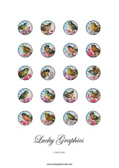 Free bottle cap images Digital Collage Sheet 1 by LuckyGraphics