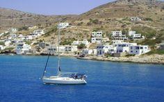Alopronia's port in Sikinos. http://alternatrips.gr/en/aegean-islands/sikinos/alopronias-port-sikinos  #alternatrips #aegean_islands #sikinos #alopronias_port