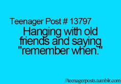 ";)  @Savannah Creech ""Remember when we were ""dumb"" little 11-year-olds...The Indian Game..""  We always  talk about that when we're together!  I'll never forget that day! Lol"