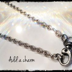 design your own chain, add a charm